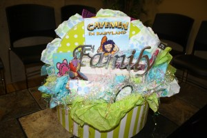 2nd Benefit Day: Cavemen in Babyland Gift Basket