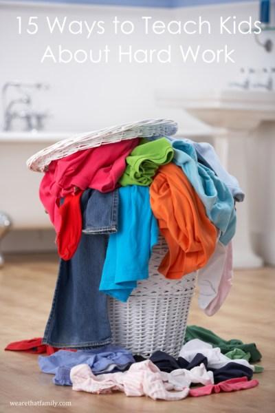 Pile of dirty washing in bathroom