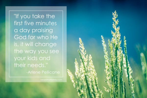 How prayer changes the way we parent