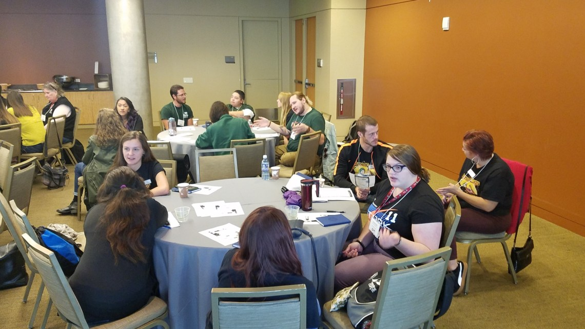 AmeriCorps Members attending a conference
