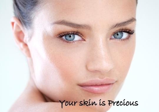 skin is precious