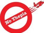 No Thepla - Logo