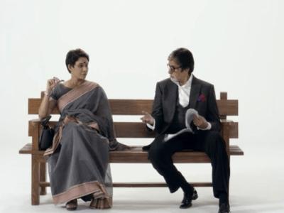 Actor Amitabh Bachchan encourages women to speak up