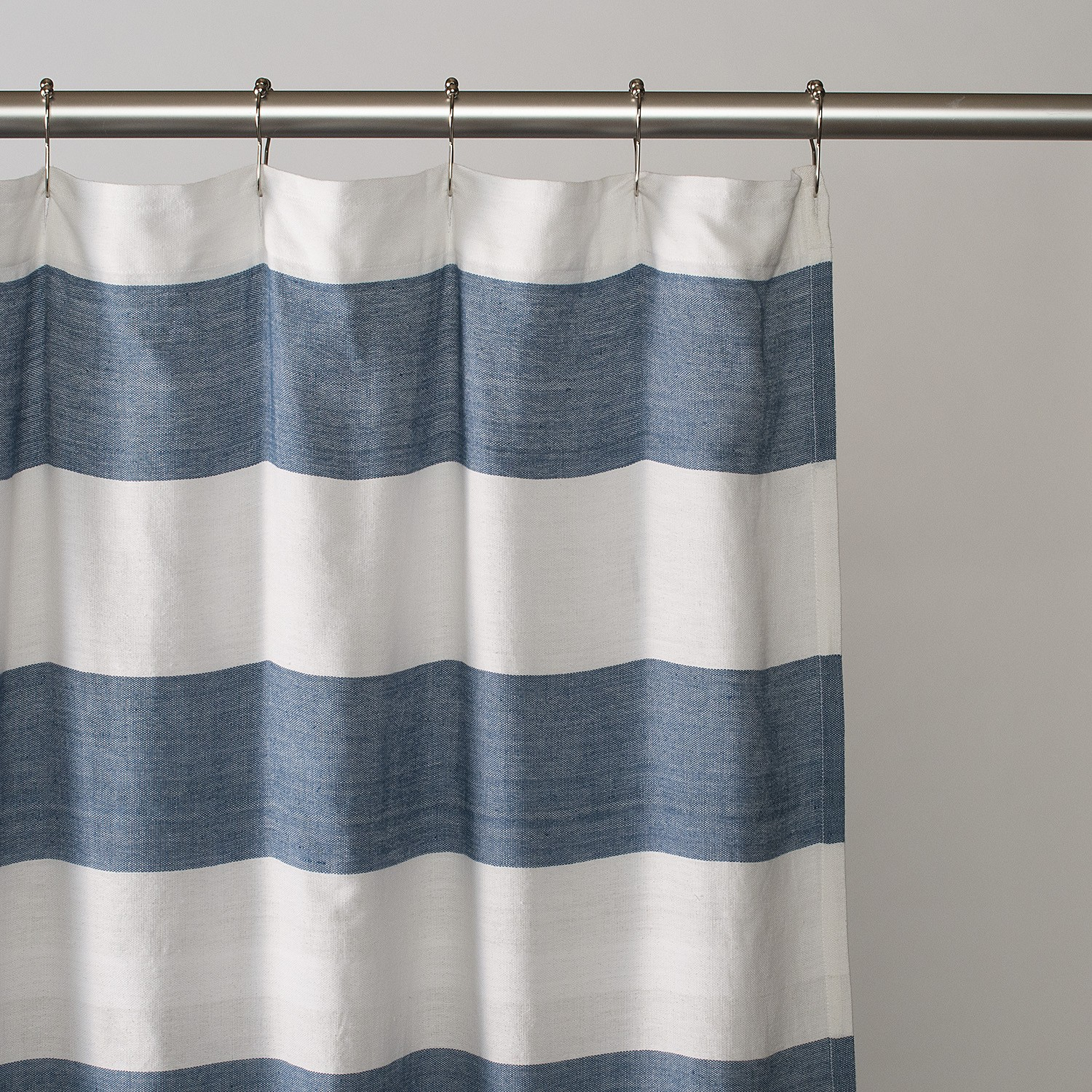 Red White Blue Stripe Shower Curtain Curtains Ideas