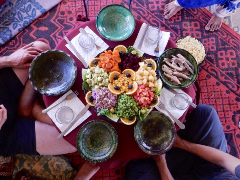 Marokkaanse salade
