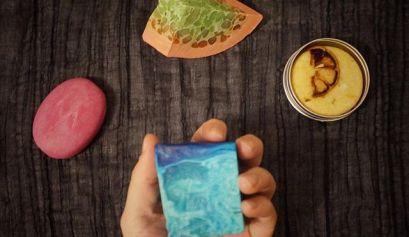 Zero-waste zeep en shampoobar