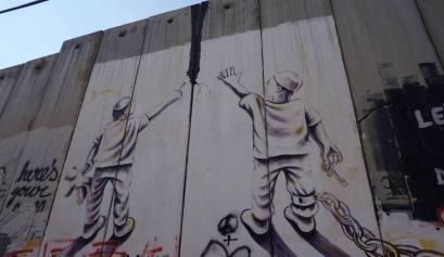 De muur tussen Palestina en Israël
