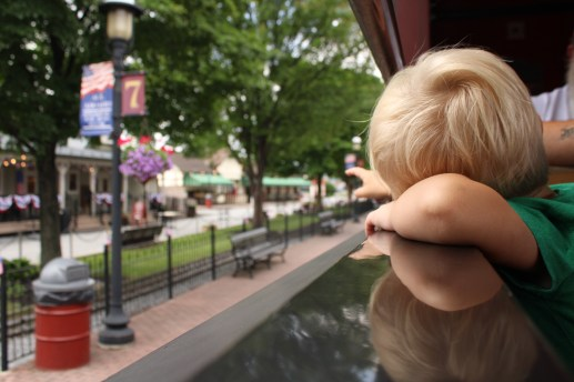 Traveling with kids on the Strasburg Railroad