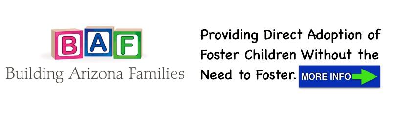 Building Arizona Families Adoption Banner Ad
