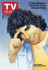 John Travolta as Vinny Barbarino from Welcome Back Kotter, 1978