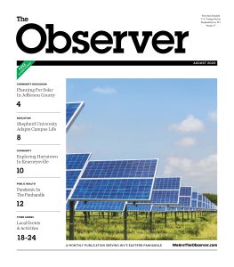 August 2020 Observer Cover