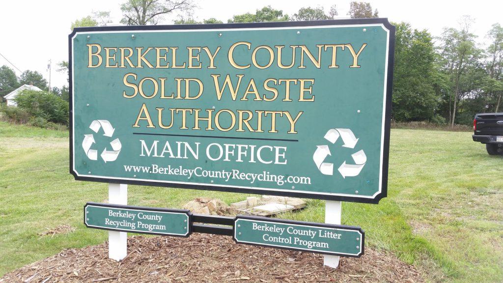 Berkeley Waste Authority Sign