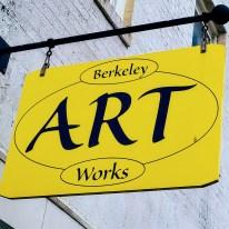 Sign for Berkeley Art Works.