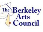 Logo for the Berkeley Arts Council.