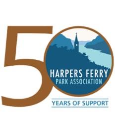Harpers Ferry Park Association logo.