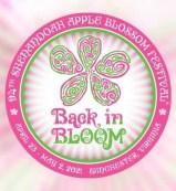 Logo for the Shenandoah Apple Blossom Festival.