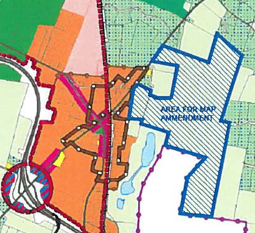 On April 15, Jefferson Orchards Inc. (JOI), applied to the Jefferson County Commission to change the zoning designation for the old Miller Orchard and a second, adjacent property located to the northeast of Kearneysville. The two parcels (240+ acres) are currently in the rural zone.