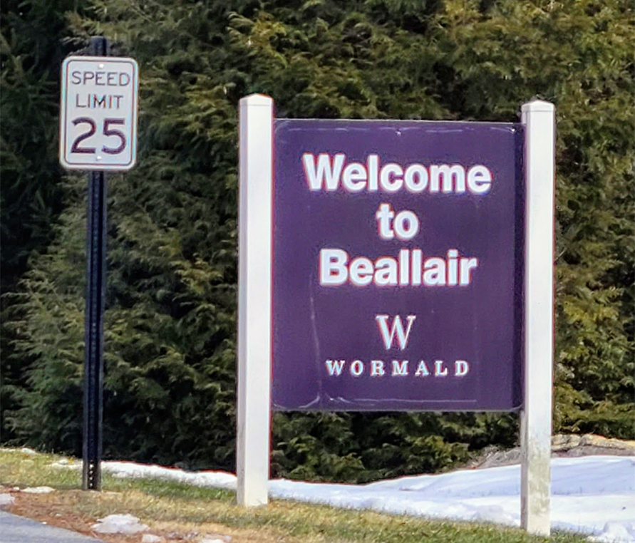 The Beallair subdivision off Old Country Club Road northeast of Charles Town, survived the 2008 recession and is currently building out its final phase. If completed according to the initial plan, the project will have 240 single family homes and 54 townhouses.