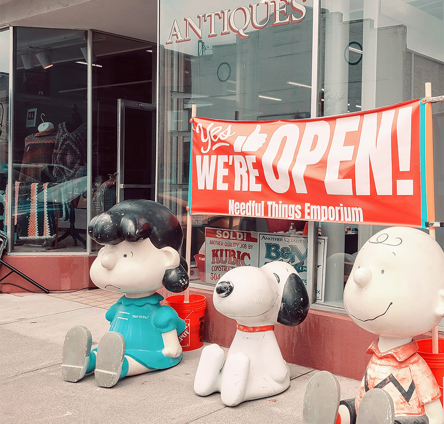 Needful Things Emporium (at 218 W Washington St.) held a grand opening of its newly remodeled space.