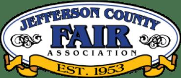 Logo for the jefferson county fair.
