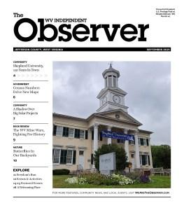 Observer September 2021 cover