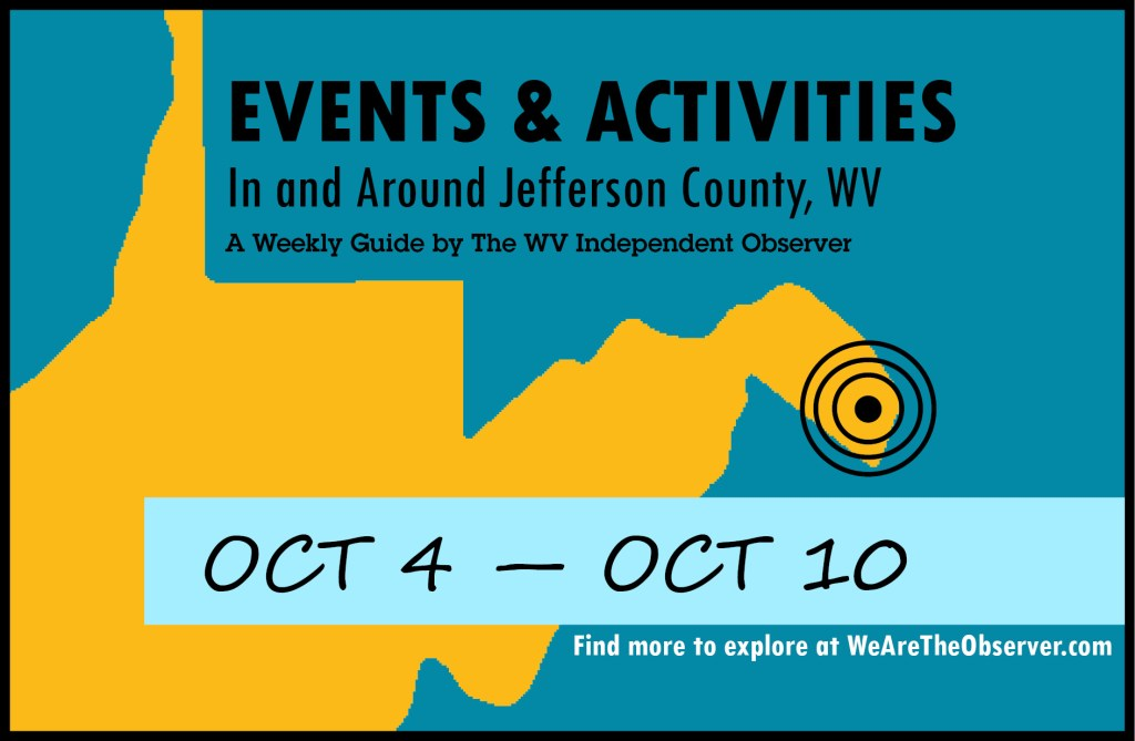 Events and activities from october 4 to october 10.