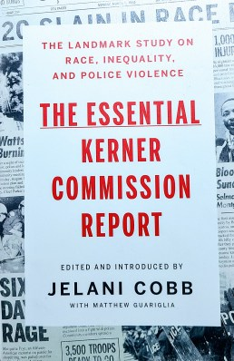 Cover of the book, the Essential Kerner Commission Report.