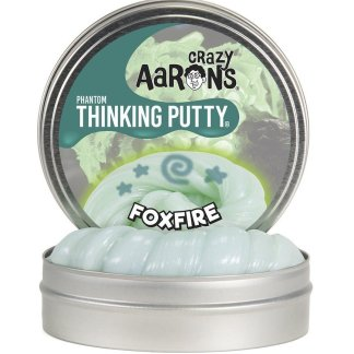Crazy Aaron Thinking Putty - Phantoms - Foxfire - 10Cm Tin