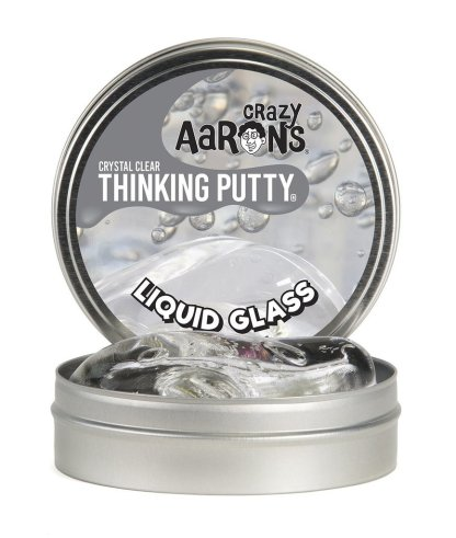 Crazy Aaron Thinking Putty Crystals Liquid Glass