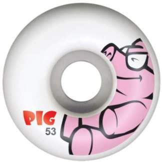 pig animal friends wheels