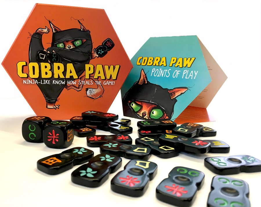 A picture showing Cobra Paw and components