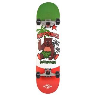 kryptonics cali style skateboard complete