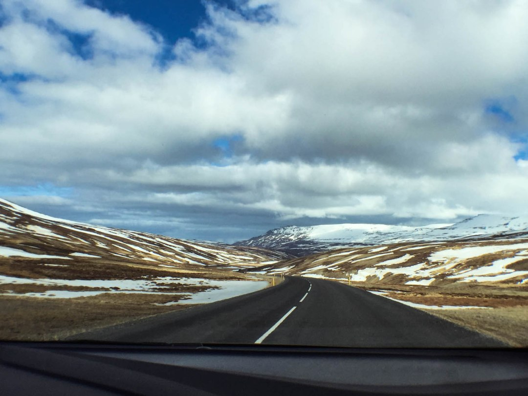 Driving-Through-Iceland