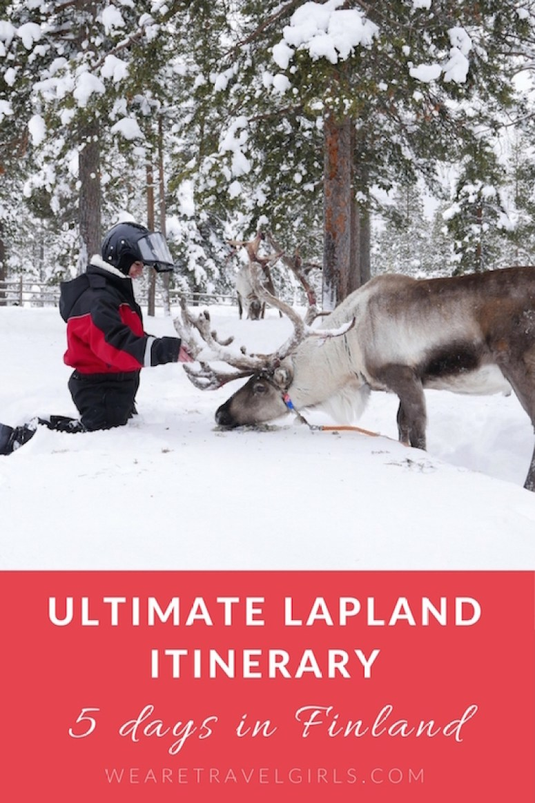 5 DAY ARCTIC ADVENTURE ITINERARY IN LAPLAND, FINLAND