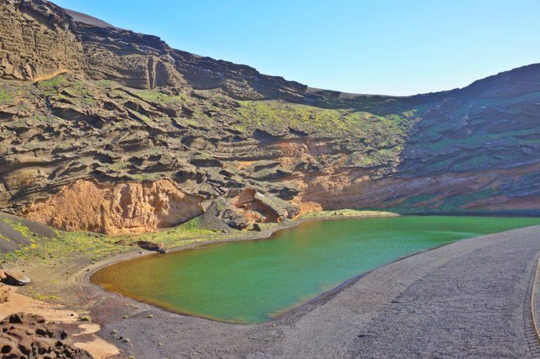 Lanzarote-green-lagoon