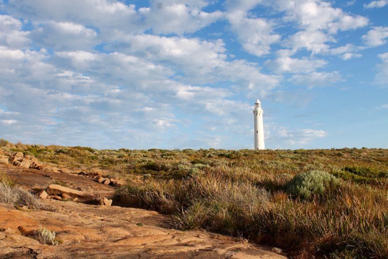 ON THE ROAD IN MARGARET RIVER, AUSTRALIA lighthouse-australia