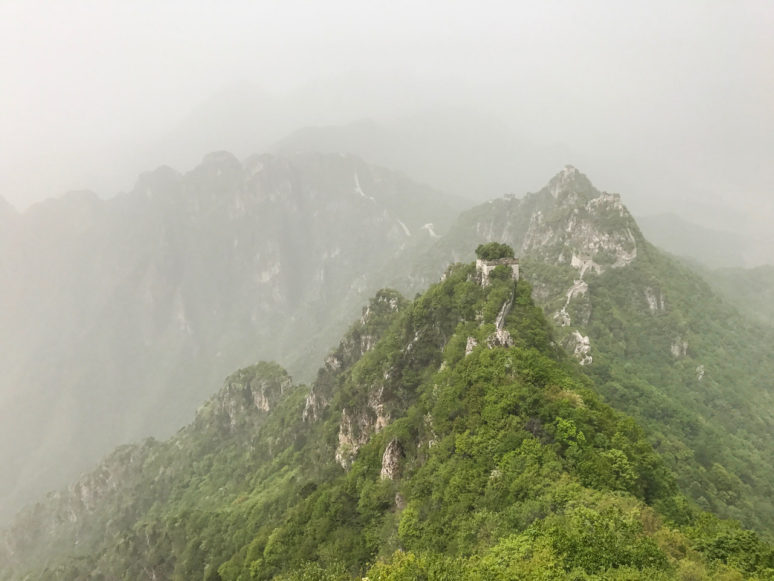 Jiankou-top_The-Great-Wall HOW TO HIKE THE GREAT WALL OF CHINA LIKE A PRO