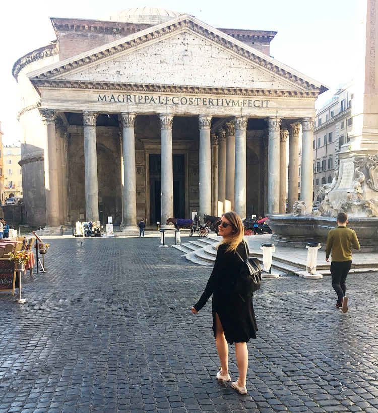 pantheon-me-rome HOW TO DO ROME IN 1 DAY ON A BUDGET