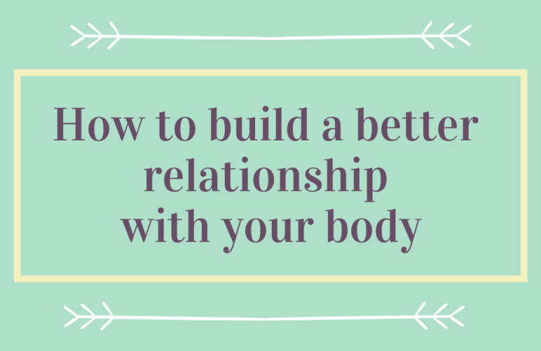 Graphic saying 'how to build a better relationship'