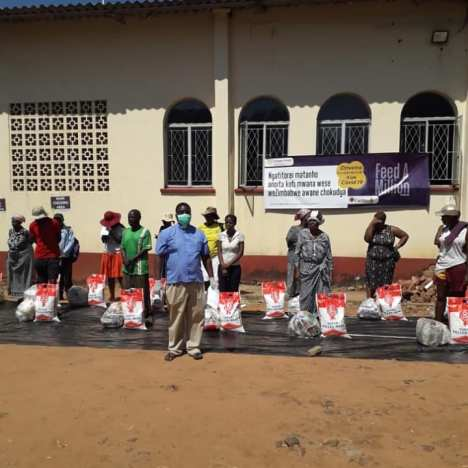 Victoria Falls residents donate to Health Care facility and community