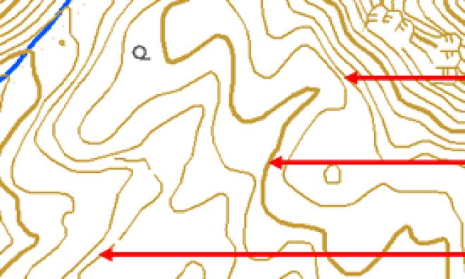 系統地理】地形図と等高線を使いこなそう(縮尺25000分の1と5万分の1の ...