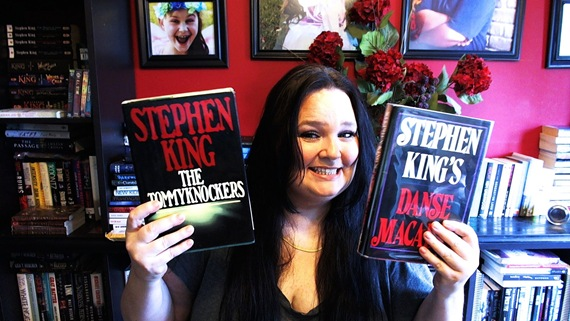 Bunny with Stephen Kings The Tommyknockers and Danse Macabre