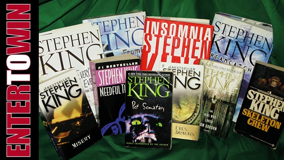 Huge Stephen King Giveaway!