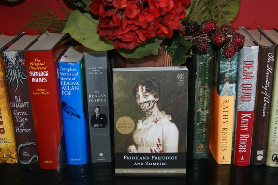 Pride and Prejudice and Zombies: The Classic Regency Romance - Now with Ultraviolent Zombie Mayhem! by Jane Austen and Seth Grahame-Smith