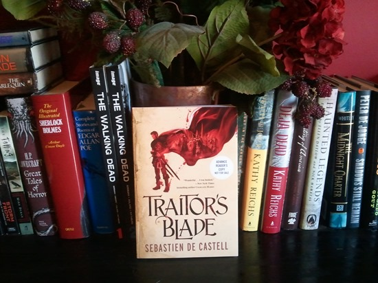 Featured Book of the Day - Traitor's Blade by Sebastian de Castell