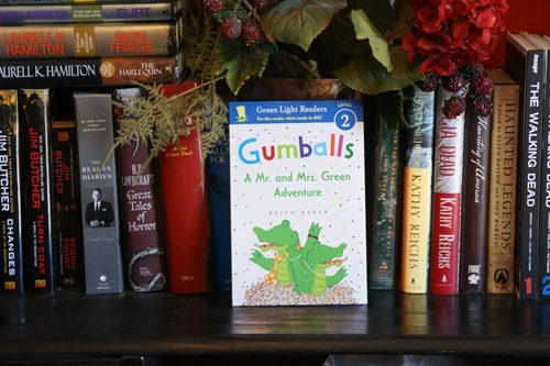 Gumballs: A Mr. and Mrs. Green Adventure  by Keith Baker | wearewordnerds.com