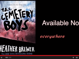 THE CEMETERY BOYS by Heather Brewer Official Book Trailer | WeAreWordNers.com