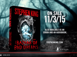 The Bazaar of Bad Dreams by Stephen King YouTube