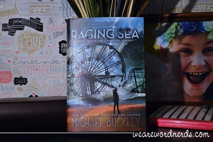Raging Sea: Undertow Trilogy Book 2 by Michael Buckley