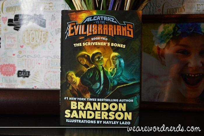 The Scrivener's Bones: Alcatraz vs. the Evil Librarians (Alcatraz Versus the Evil Librarians) by Brandon Sanderson